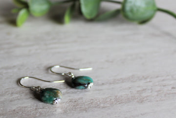 Earrings Limited Edition - African Turquoise
