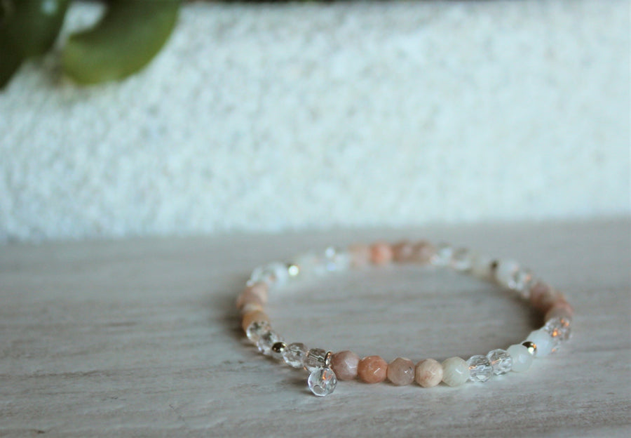 Moonstone + Sunstone Stacker Set