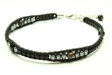 Resilient Peaks Anklet - Woven Stone Co.