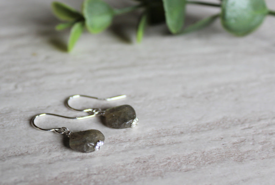 Earrings Limited Edition - Labradorite