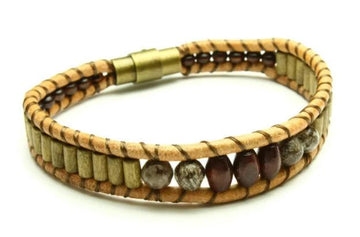 Mens Explorer Bracelet - Woven Stone Co.