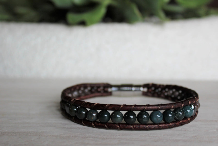 Mens Outdoorsman Bracelet - Woven Stone Co.