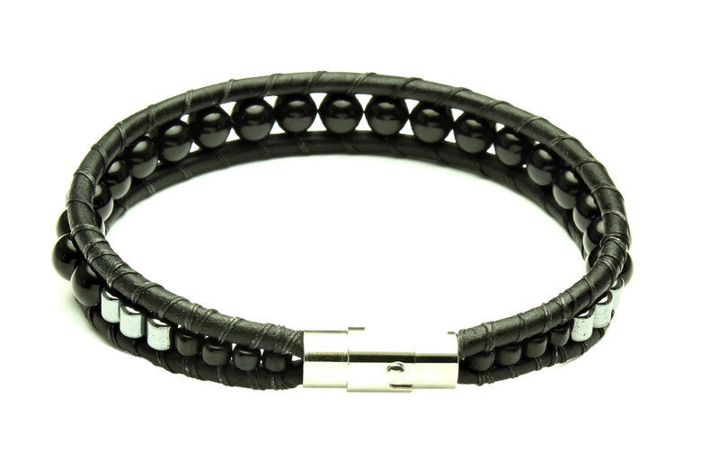 Mens Protector Bracelet - Woven Stone Co.