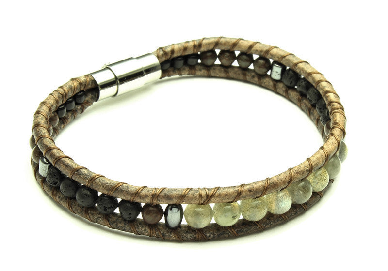 Mens Starscape Bracelet - Woven Stone Co.
