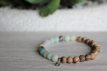 Matte Stacker - Flower Amazonite