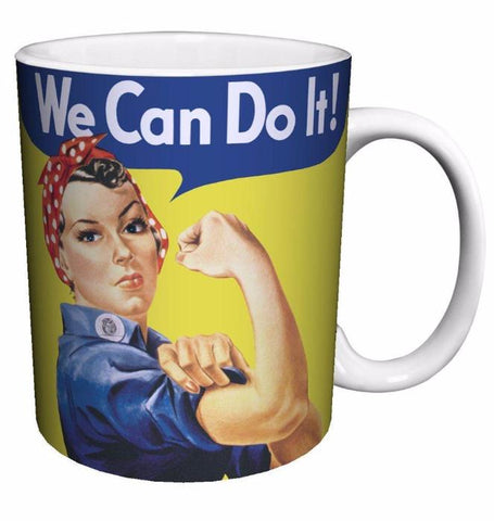 Rosie the Riveter (We Can Do It) Mug