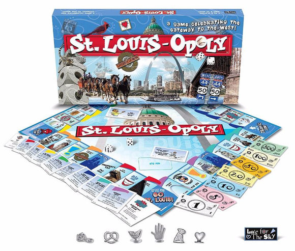 St. Louis Opoly: A Game Celebrating the Gateway to the West!