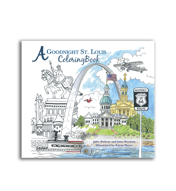 A Goodnight St. Louis Coloring Book
