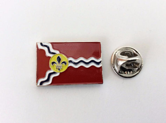 City of Saint Louis Flag Lapel Pin