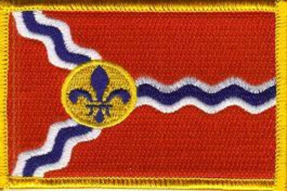 City of Saint Louis Flag Patch