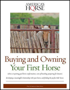 BUYING & OWNING YOUR FIRST HORSE Digital Book