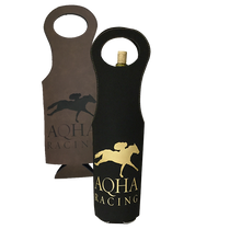 Load image into Gallery viewer, AQHA Racing Leatherette Wine Bag