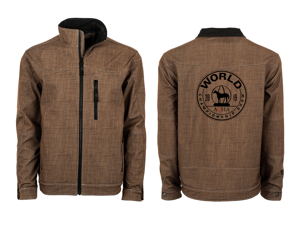 2019 World show Commemorative Heather Brown Perf Jacket