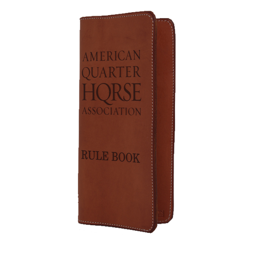 AQHA Notebook Handbook Cover
