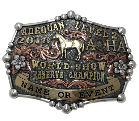 Duplicate World Show Champion Buckle