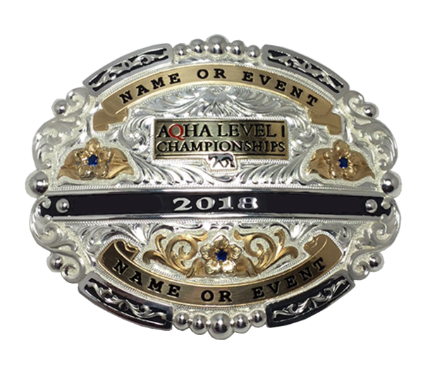 AQHA Level 1 Championships Exhibitor Buckle (R)