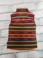 Load image into Gallery viewer, AQHA Ladies Maroon Aztec Vest