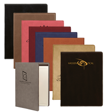 Load image into Gallery viewer, 7x9 Leatherette Portfolio