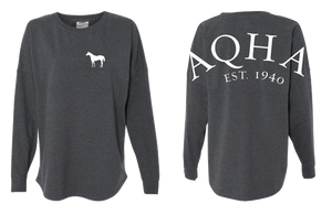 AQHA Charcoal Dark Heather Game Day Tee