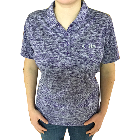 AQHA Purple Electric Ladies Polo