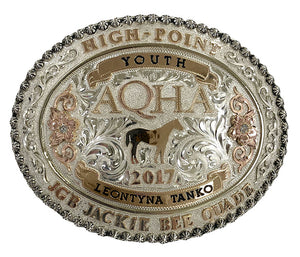 AQHA Year-End High Point Shows Buckle (R)