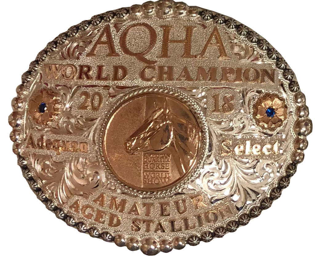 ADEQUAN SELECT WORLD CHAMPION BUCKLE