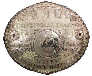 AQHA Select World Show Reserve Champion Buckle (R)