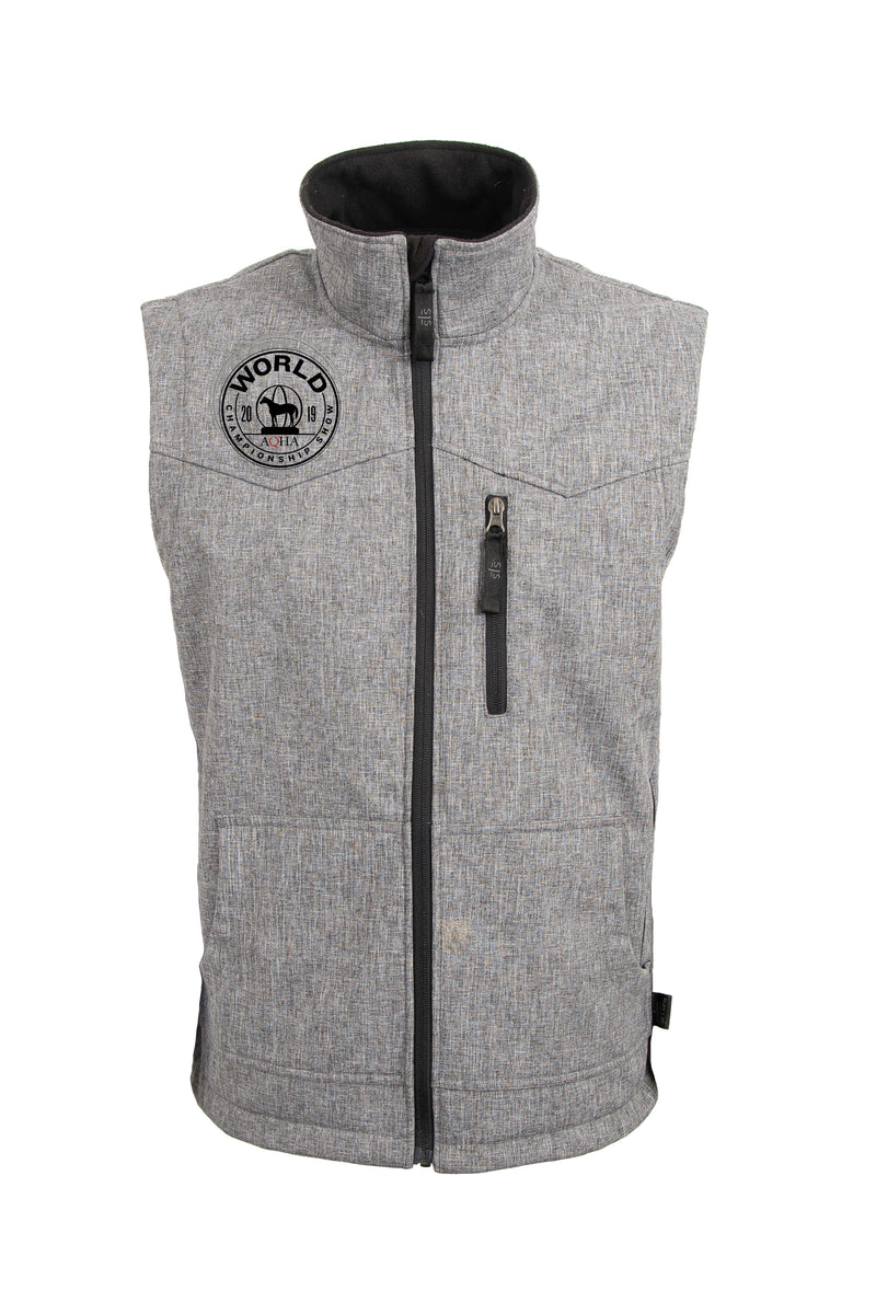 2019 World Show Commemorative Light Grey Vest