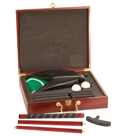 Card & Flask Rosewood Box Set