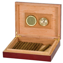 Load image into Gallery viewer, Rosewood Piano Finish Humidor