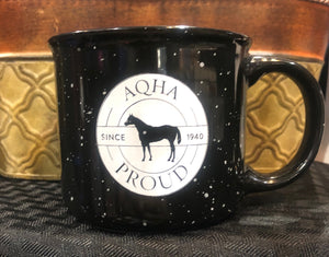 13OZ BLACK CERAMIC MUG