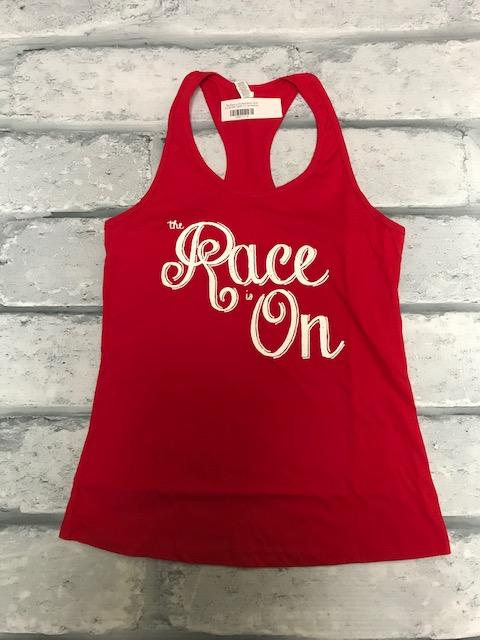 The Race is On Red Bella Tank