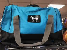 "Load image into Gallery viewer, AQHA Horse  22 "" Travel Duffel Bag"