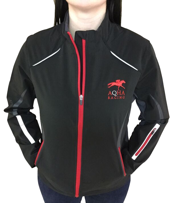 Ladies Black & Red Racing Jacket