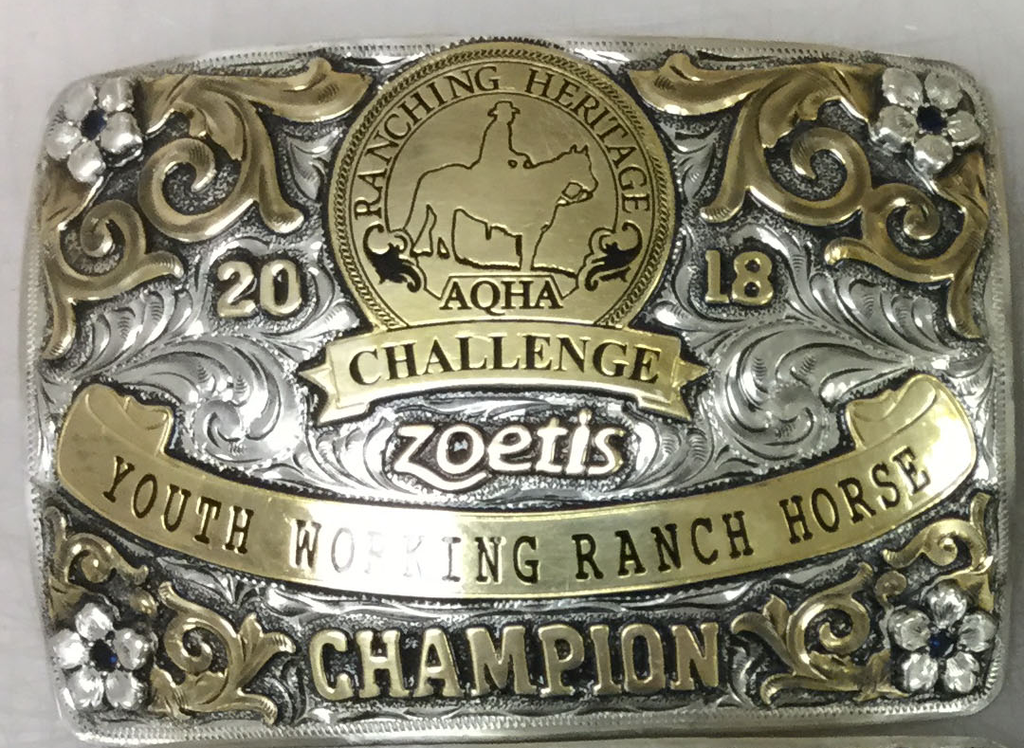 Ranching Heritage Challenge Buckle