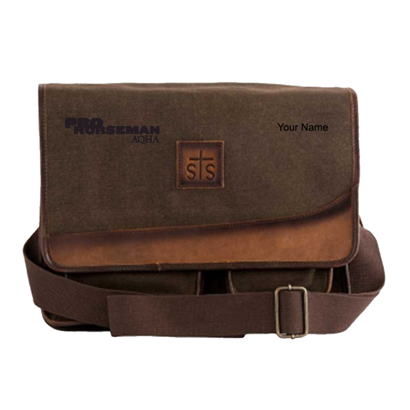 Pro Horseman Canvas Messenger Bag
