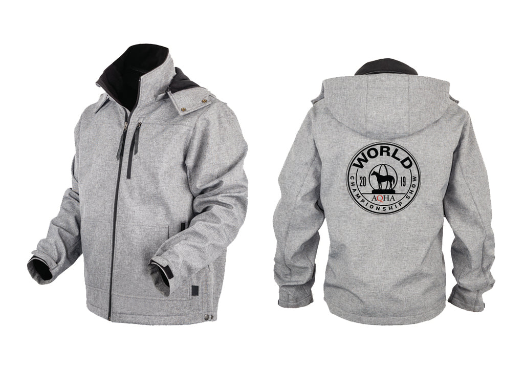 2019 World Show Commemorative Heather Grey Jacket