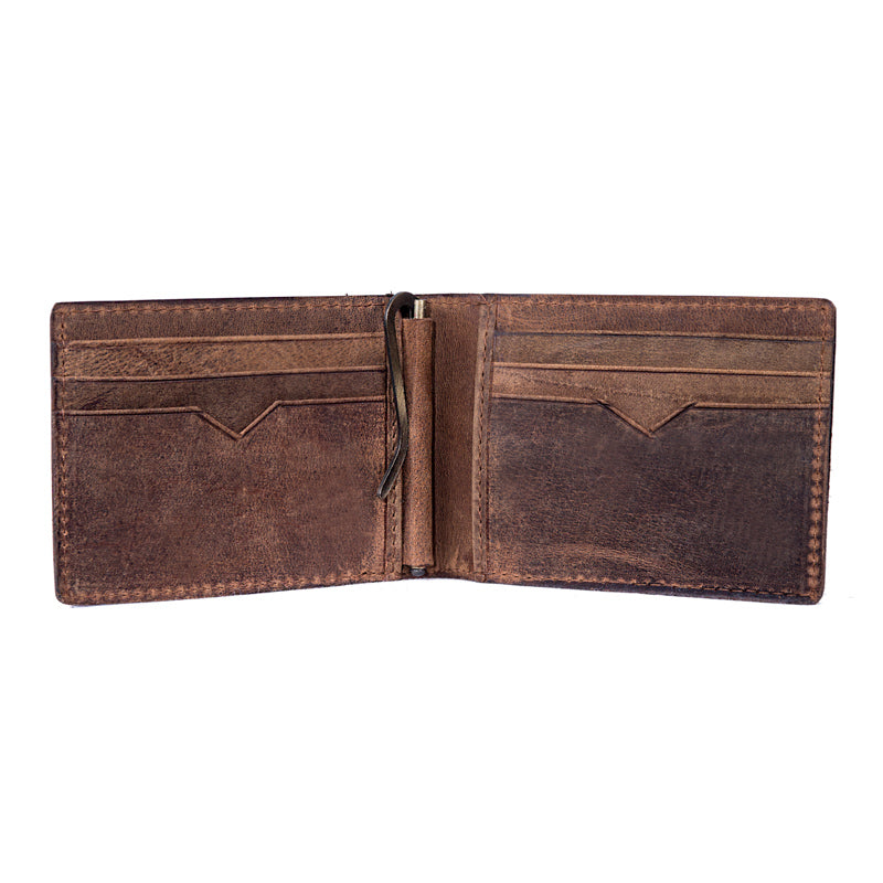 Foreman's Hidden Money Clip Wallet