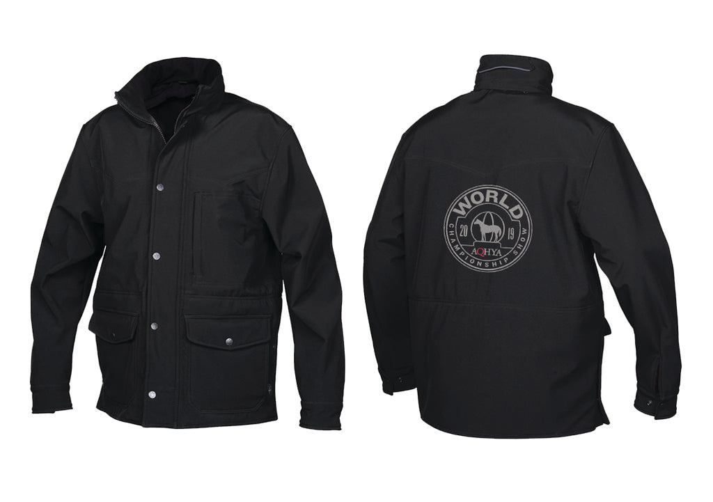 2019 Youth World Show Black Brazos Award Jacket