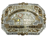 AQHA World Show Finalist Buckle