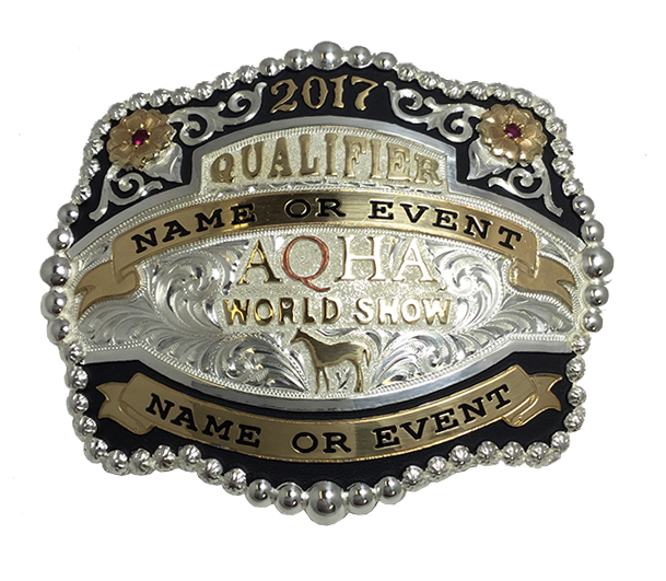 Qualifier AQHA World Show Buckle