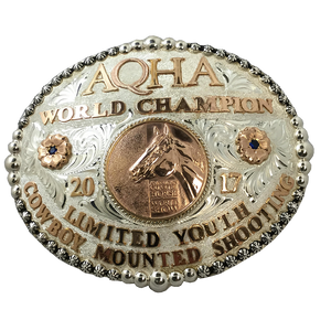 AQHA World Show Champion Buckle (R)