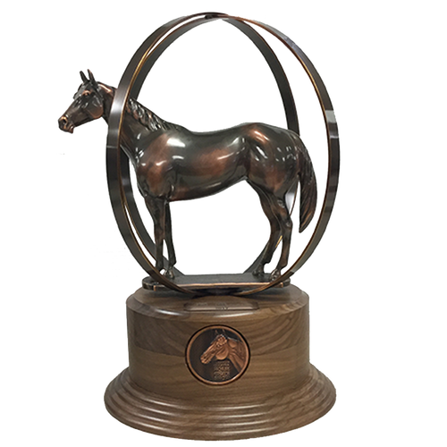 AQHA World Show Third Place Finalist Trophy (R)