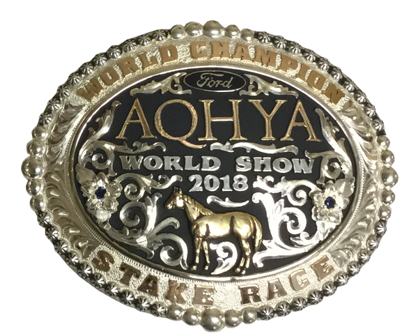 Champion Buckle Duplicate AQHA Youth World Show