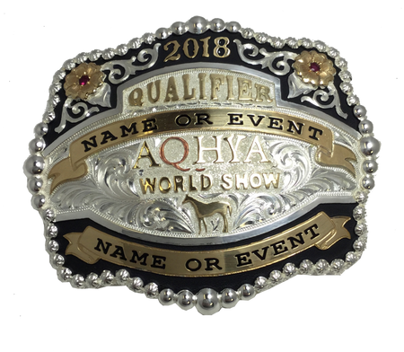 Level 1 Cattle Championship Qualifier Buckle
