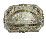 Youth World Show Finalist Buckle