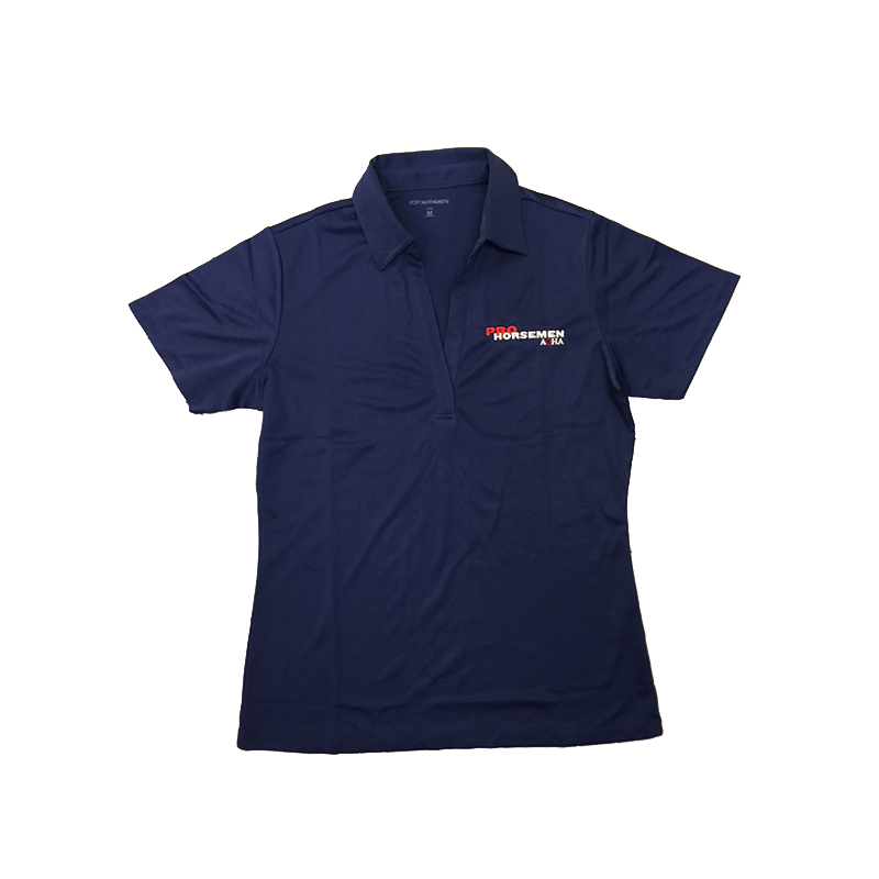 Ladies Pro Horseman Blue Polo