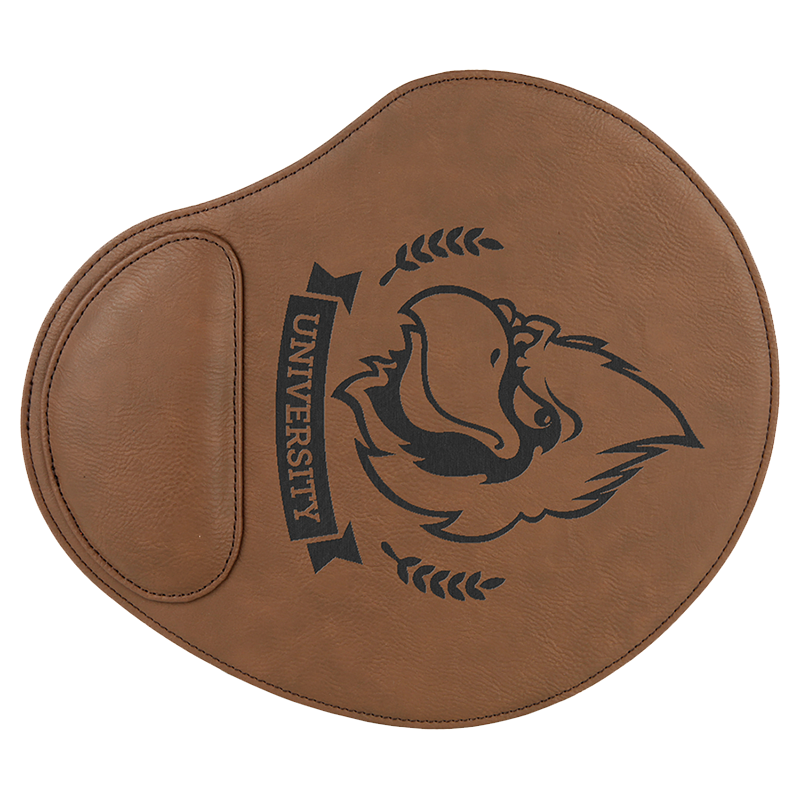 Leatherette Raised Mousepad
