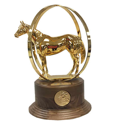 AQHA World Champion Duplicate Trophy
