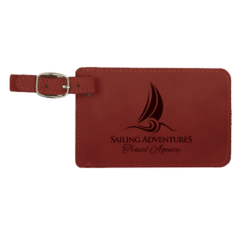 Leatherette Luggage Tag